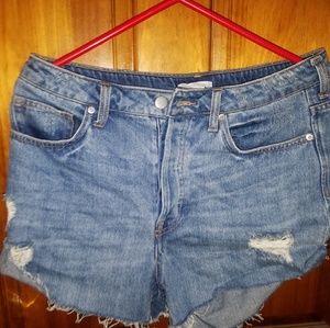 H&M Denim Shorts sz 10